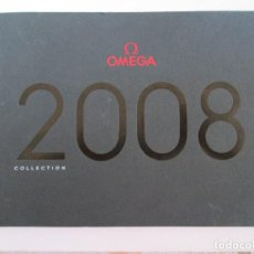 Relojes - Omega: CATALOGO RELOJES OMEGA - 2008 - COLLECTION - 163 PAGINAS - 24X17. Lote 246373520