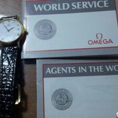 Relojes - Omega: RELOJ ORO OMEGA DEVILLE SEÑORA VER FOTOS. Lote 108072687