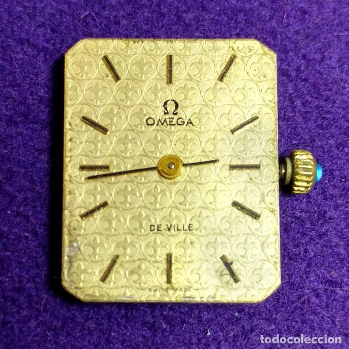 ANTIGUO RELOJ DE PULSERA OMEGA. DE VILLE. CARGA MANUAL- CUERDA. EN FUNCIONAMIENTO. SEÑORA. AÑOS 60. (Relojes - Relojes Actuales - Omega)