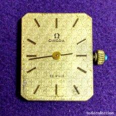 Relojes - Omega: ANTIGUO RELOJ DE PULSERA OMEGA. DE VILLE. CARGA MANUAL- CUERDA. EN FUNCIONAMIENTO. SEÑORA. AÑOS 60.. Lote 109178967