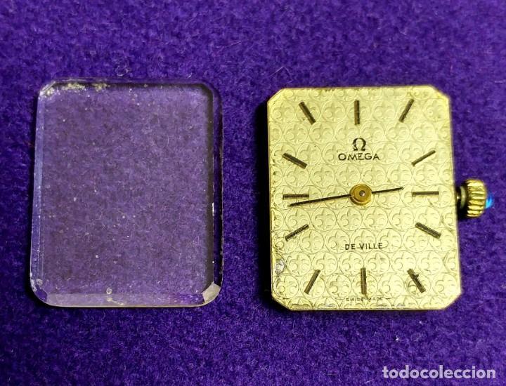 Relojes - Omega: ANTIGUO RELOJ DE PULSERA OMEGA. DE VILLE. CARGA MANUAL- CUERDA. EN FUNCIONAMIENTO. SEÑORA. AÑOS 60. - Foto 2 - 109178967