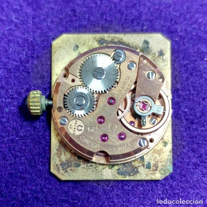 Relojes - Omega: ANTIGUO RELOJ DE PULSERA OMEGA. DE VILLE. CARGA MANUAL- CUERDA. EN FUNCIONAMIENTO. SEÑORA. AÑOS 60. - Foto 5 - 109178967