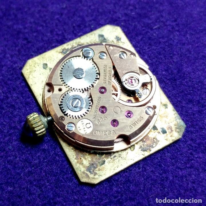 Relojes - Omega: ANTIGUO RELOJ DE PULSERA OMEGA. DE VILLE. CARGA MANUAL- CUERDA. EN FUNCIONAMIENTO. SEÑORA. AÑOS 60. - Foto 6 - 109178967