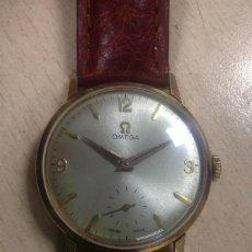 Relojes - Omega: RELOJ OMEGA MECÁNICO CON CAJA DE ORO. Lote 112560579