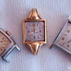 Relojes - Omega: LOTE DE 3 OMEGA RELOJES DE MUJER CAL.244 FUNCIONAN M16. Lote 113804455