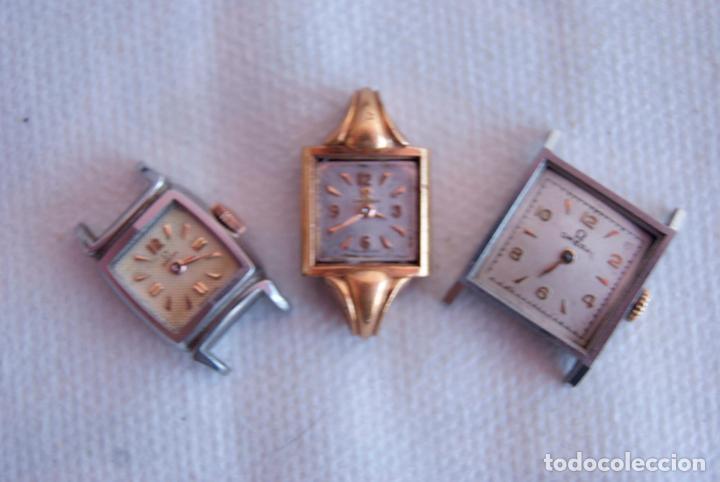 Relojes - Omega: LOTE DE 3 OMEGA RELOJES DE MUJER CAL.244 FUNCIONAN D7 - Foto 2 - 158661518