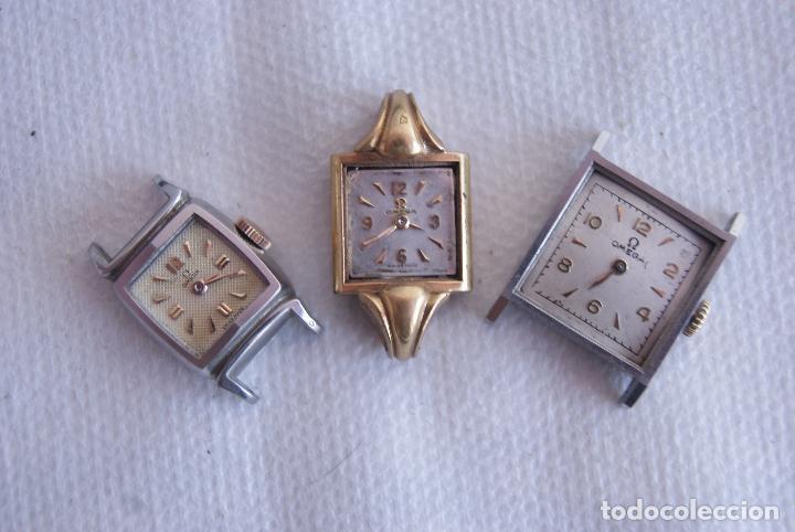 Relojes - Omega: LOTE DE 3 OMEGA RELOJES DE MUJER CAL.244 FUNCIONAN D7 - Foto 3 - 158661518