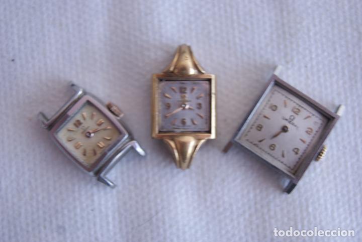 Relojes - Omega: LOTE DE 3 OMEGA RELOJES DE MUJER CAL.244 FUNCIONAN D7 - Foto 4 - 158661518