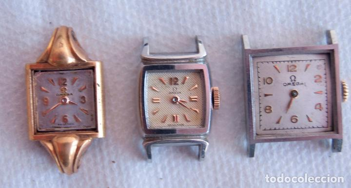 Relojes - Omega: LOTE DE 3 OMEGA RELOJES DE MUJER CAL.244 FUNCIONAN D7 - Foto 5 - 158661518