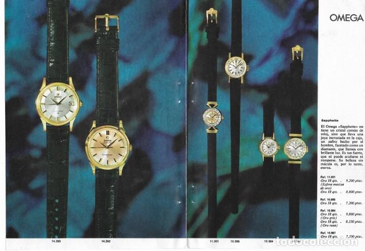 Relojes - Omega: PUBLICIDAD 1962 HOJA REVISTA ANUNCIO CATÁLOGO RELOJES OMEGA - 4 HOJAS - Foto 2 - 114522387