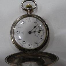 Relojes - Omega: RELOJ OMEGA DE PLATA.3 TAPAS.. Lote 150138965