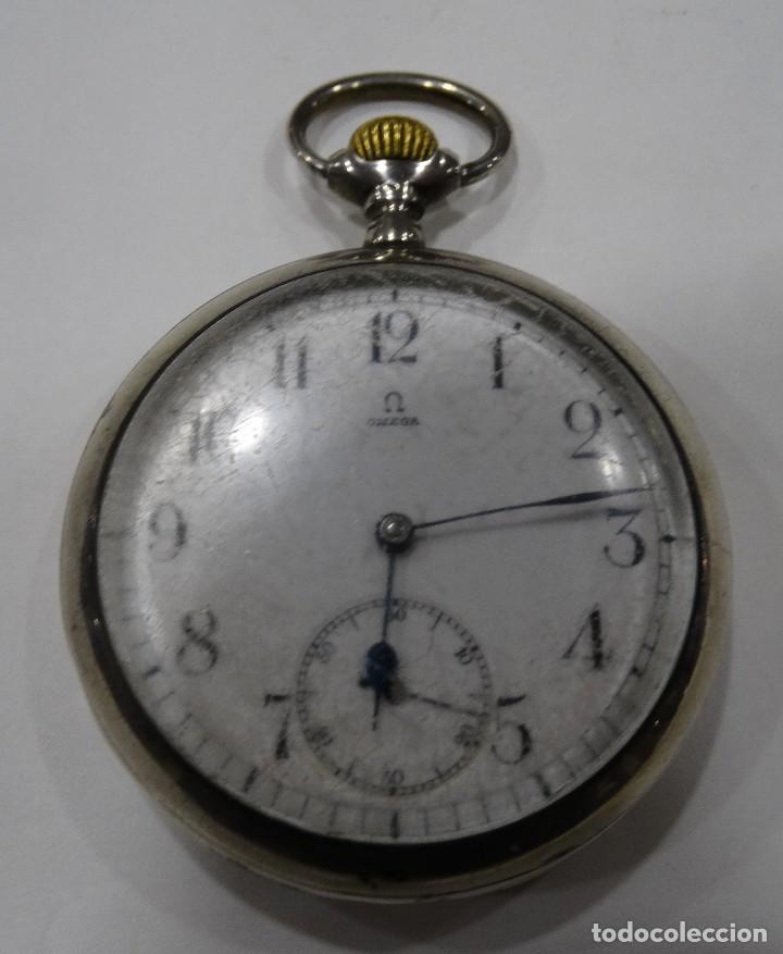 RELOJ OMEGA 2 TAPAS DE PLATA. (Relojes - Relojes Actuales - Omega)