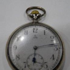 Relojes - Omega: RELOJ OMEGA 2 TAPAS DE PLATA.. Lote 117348919