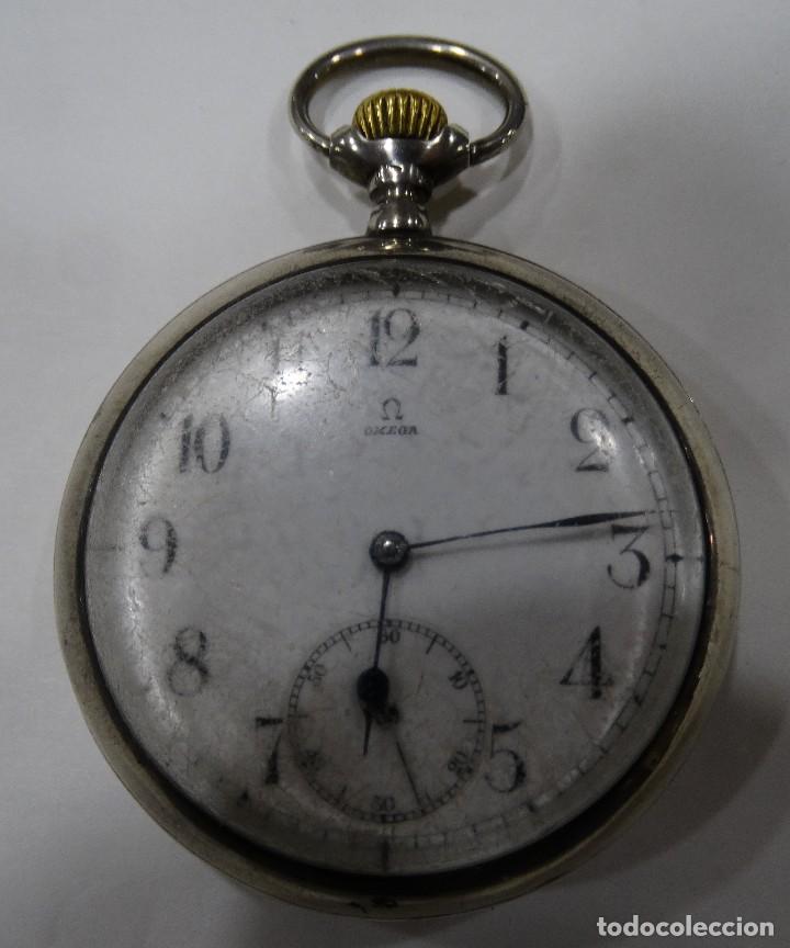 Relojes - Omega: RELOJ OMEGA 2 TAPAS DE PLATA. - Foto 2 - 117348919
