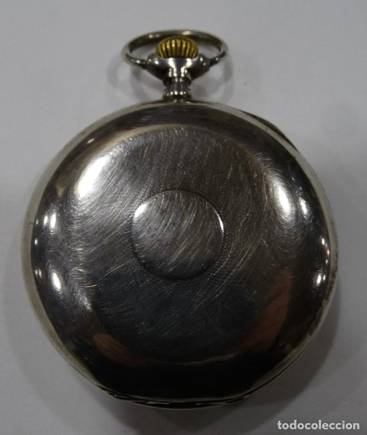 Relojes - Omega: RELOJ OMEGA 2 TAPAS DE PLATA. - Foto 6 - 117348919