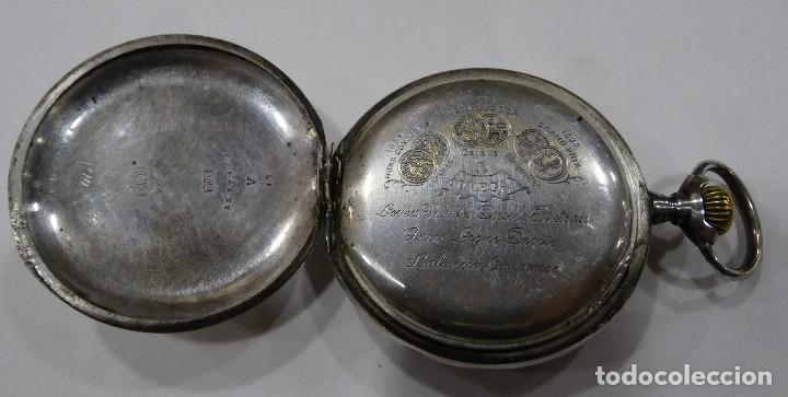 Relojes - Omega: RELOJ OMEGA 2 TAPAS DE PLATA. - Foto 8 - 117348919