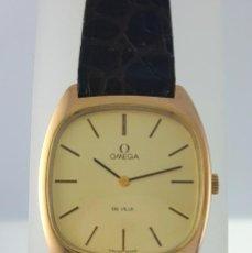 Relojes - Omega: OMEGA DE VILLE PLAQUE ORO 18KT.CABALLERO¡¡NUEVO!!. Lote 126603059