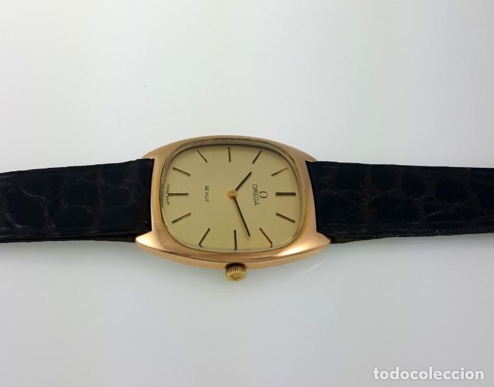 Relojes - Omega: OMEGA DE VILLE PLAQUE ORO 18KT.CABALLERO¡¡NUEVO!! - Foto 2 - 126603059