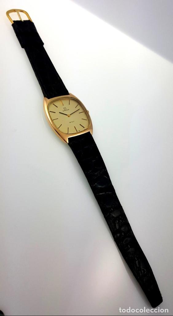 Relojes - Omega: OMEGA DE VILLE PLAQUE ORO 18KT.CABALLERO¡¡NUEVO!! - Foto 3 - 126603059
