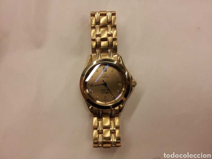 Relojes - Omega: Omega Seamaster Chronometer en oro macizo 18k - Foto 3 - 132764323