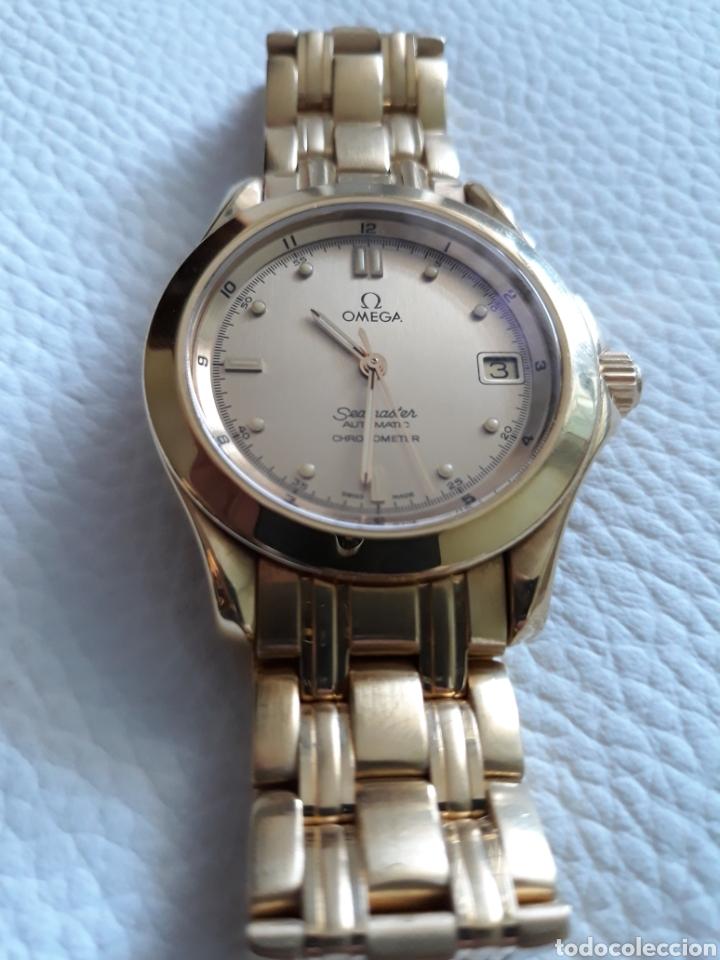 Relojes - Omega: Omega Seamaster Chronometer en oro macizo 18k - Foto 6 - 132764323