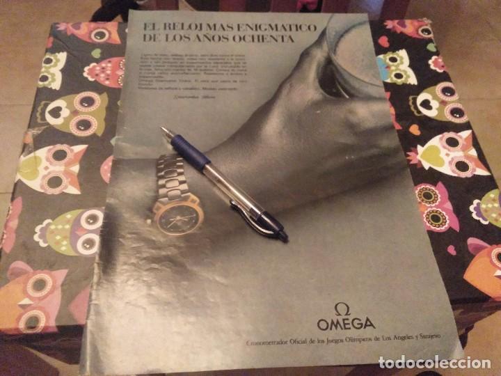 ANUNCIO PUBLICIDAD AÑOS 80 RELOJ OMEGA SEAMASTER TITANE (Relojes - Relojes Actuales - Omega)