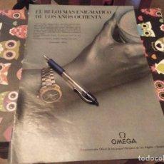 Relojes - Omega: ANUNCIO PUBLICIDAD AÑOS 80 RELOJ OMEGA SEAMASTER TITANE. Lote 133414698