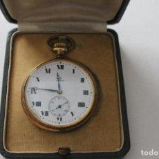 Relojes - Omega: RELOJ DE BOLSILLO OMEGA DE ORO, PARA REPARAR. Lote 136729970