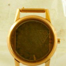 Relojes - Omega: OMEGA 2870-1 CAJA CHAPADA EN ORO PARA CALIBRE 244 NUEVA. Lote 136895078