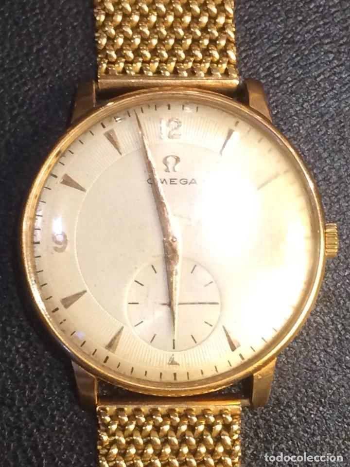 Relojes - Omega: Reloj caballero de oro de ley - Foto 3 - 137922958