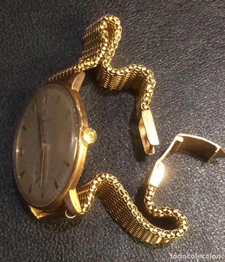 Relojes - Omega: Reloj caballero de oro de ley - Foto 4 - 137922958