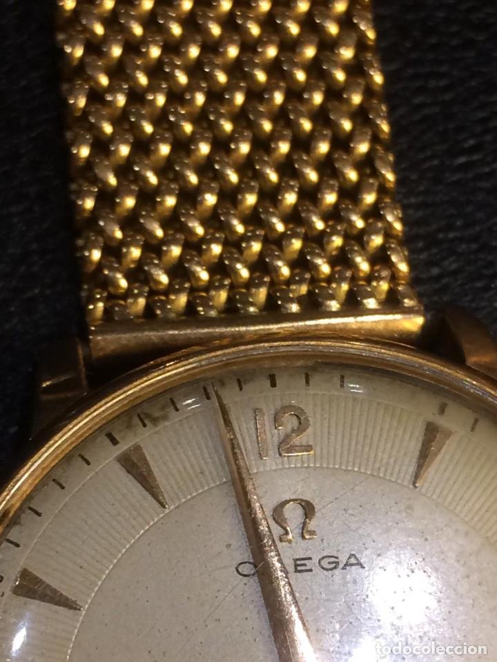Relojes - Omega: Reloj caballero de oro de ley - Foto 6 - 137922958