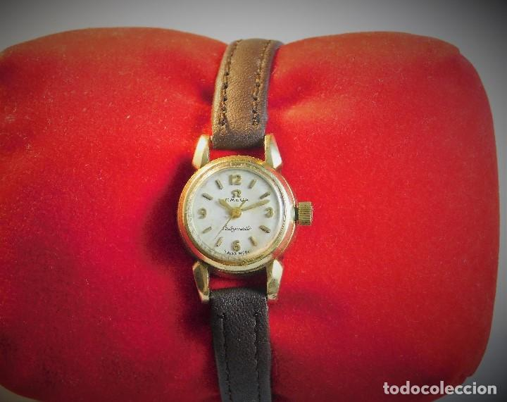 Relojes - Omega: RELOJ OMEGA LADYMATIC-AUTOMÁTICO DE DAMA-VINTAGE - Foto 7 - 139156510