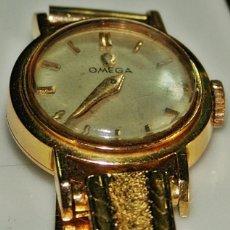 Relojes - Omega: GAMA ALTA OMEGA DE SEÑORA ORO 18 KILATES. Lote 142194970
