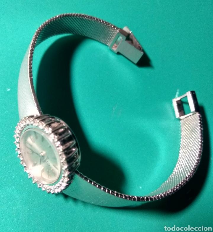Relojes - Omega: Reloj con brillantes. Omega, oro blanco 18k. - Foto 2 - 144292024
