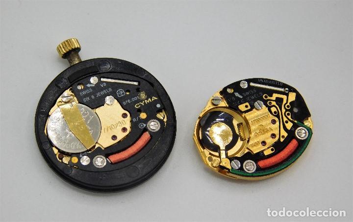 Relojes - Omega: OMEGA-CYMA-RELOJ Y PULSERA DE ORO 18K-DE DAMA-QUARZ-EN FANTASTICO ESTADO - Foto 7 - 146580686