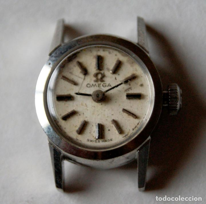 OMEGA SEÑORA 511.170 CALIBRE 484 ACERO CORONA FIRMADA (Relojes - Relojes Actuales - Omega)