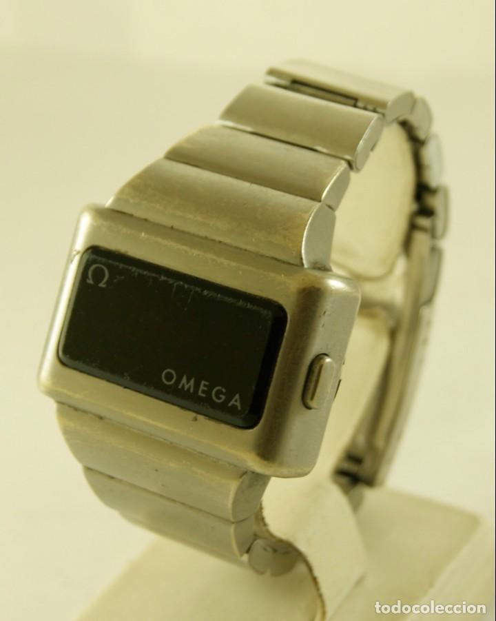 Relojes - Omega: RARO OMEGA 196.0020 TC1 CON ARMYS TODO ORIGINAL - Foto 4 - 148900538