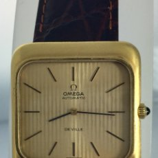 Relojes - Omega: OMEGA DE VILLE PLAQUÉ ORO 18KTS ¡¡NUEVO!!. Lote 145300814