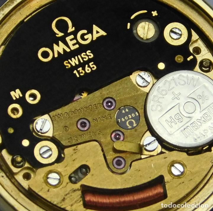 Relojes - Omega: OMEGA DE VILLE QUARTZ- MUY ELEGANTE RELOJ DE PULSERA-DE DAMA - CIRCA 1980-1989-GARANTIA-FUNCIONANDO - Foto 2 - 149638866