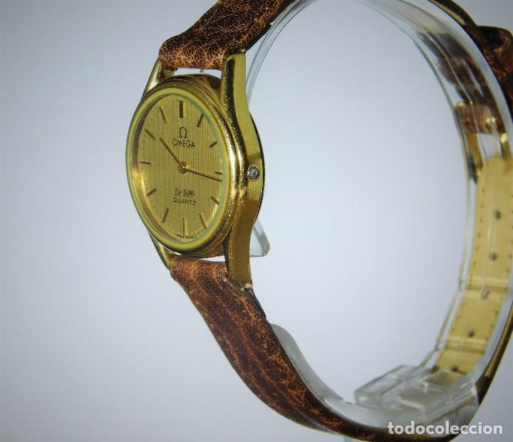 Relojes - Omega: OMEGA DE VILLE QUARTZ- MUY ELEGANTE RELOJ DE PULSERA-DE DAMA - CIRCA 1980-1989-GARANTIA-FUNCIONANDO - Foto 10 - 149638866