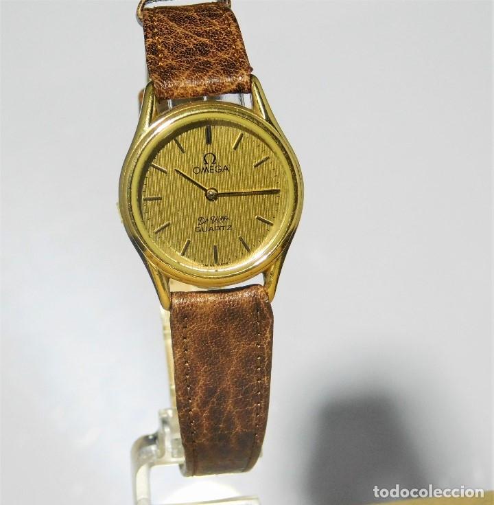 OMEGA DE VILLE QUARTZ- MUY ELEGANTE RELOJ DE PULSERA-DE DAMA - CIRCA 1980-1989-GARANTIA-FUNCIONANDO (Relojes - Relojes Actuales - Omega)