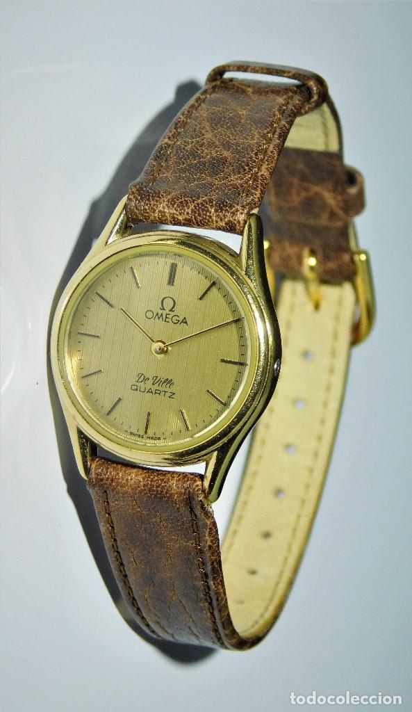 Relojes - Omega: OMEGA DE VILLE QUARTZ- MUY ELEGANTE RELOJ DE PULSERA-DE DAMA - CIRCA 1980-1989-GARANTIA-FUNCIONANDO - Foto 8 - 149638866