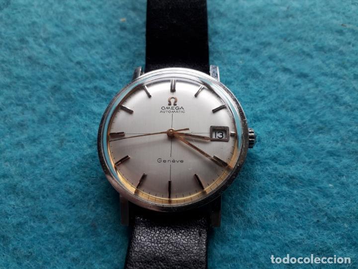 RELOJ MARCA OMEGA AUTOMATIC GENEVE. CLÁSICO DE CABALLERO. FUNCIONANDO (Clocks and Watches - Current Brands - Omega)