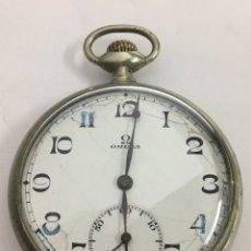 Relojes - Omega: RELOJ OMEGA DE BOLSILLO CARGA MANUAL EN FUNCIONAMIENTO. Lote 150759242