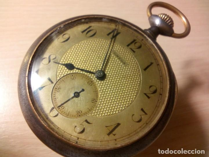 ALTA GAMA ANTIGUO OMEGA BOLSILLO CIRCA 1900 (Relojes - Relojes Actuales - Omega)