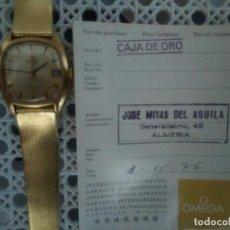 Relojes - Omega: RELOJ OMEGA DE CABALLERO AUTOMATICO DE ORO MACIZO 18K CON SU GARANTÍA AÑOS 1960.OFERTON!78,4 GRAMOS . Lote 151384298