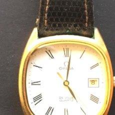 Relojes - Omega: RELOJ DE LA MARCA OMEGA DE VILLE QUARTZ, CON CORREA DE CUERO. Lote 151712762