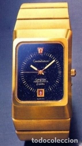 OMEGA MEGAQUARTZ STARDUST 8-001 ORO 18 (Relojes - Relojes Actuales - Omega)