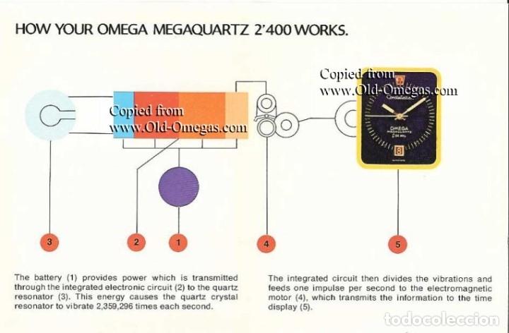 Relojes - Omega: OMEGA MEGAQUARTZ STARDUST 8-001 ORO 18 - Foto 3 - 153731910